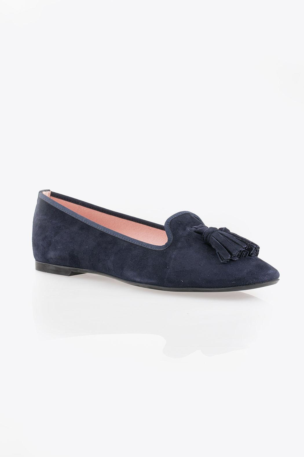 Pretty Ballerinas Suede Loafers - Side Cropped Image