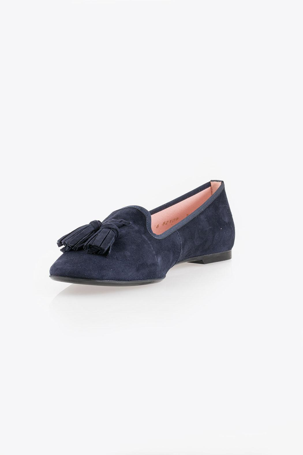 Pretty Ballerinas Suede Loafers - Main Image