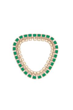 Shoptiques Product: Green Gold Necklace