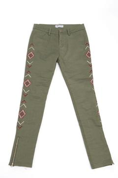 Shoptiques Product: Green Tribal Pant