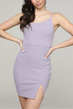Pretty Little Things Asymetrical Slashed Dress - Product List Image