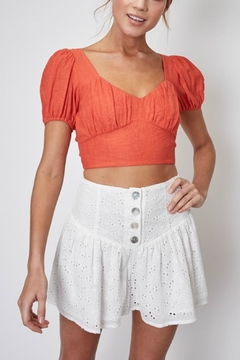 Pretty Little Things Backless Crop Top - Product List Image