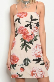 Pretty Little Things Backless Floral Dress - Product Mini Image