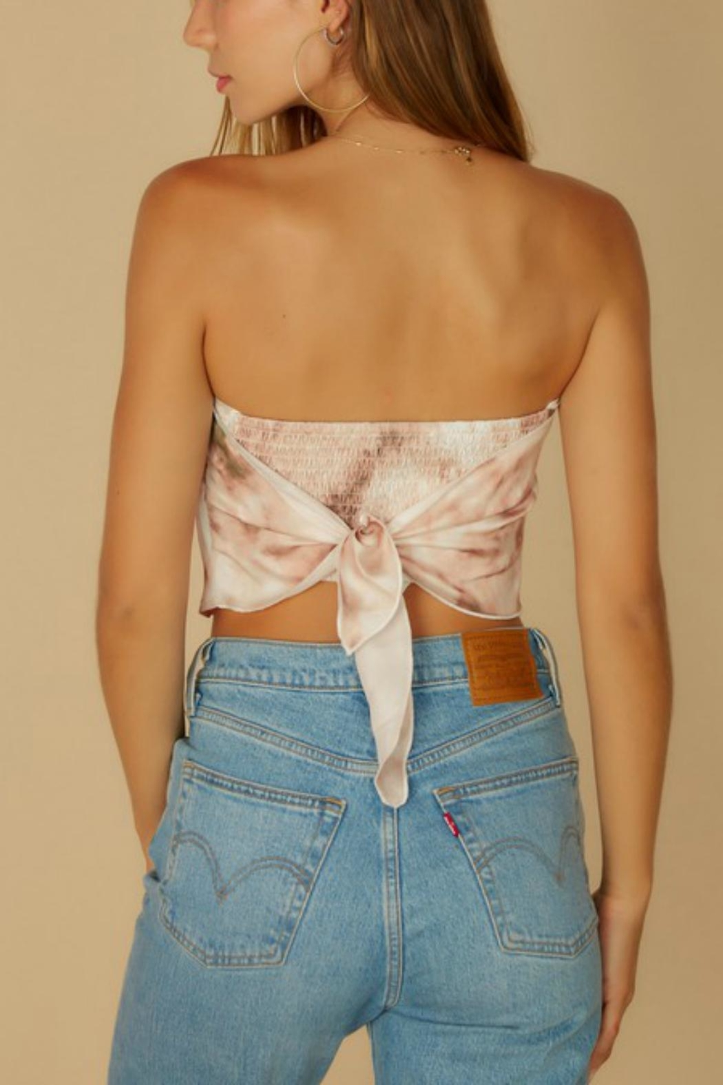 Pretty Little Things Bandana Crop Top - Front Full Image