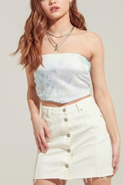 Pretty Little Things Bandana Crop Top - Front cropped
