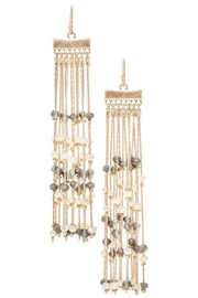 Pretty Little Things Beaded Curtain Earrings - Product Mini Image