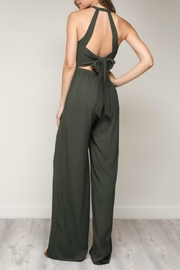 Pretty Little Things Bow Back Jumpsuit - Front full body