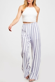 Pretty Little Things Cabana Palazzo Pants - Front cropped