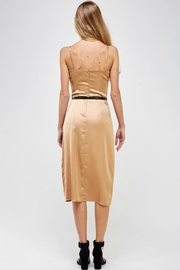 Pretty Little Things Classic Satin Dress - Side cropped