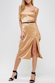 Pretty Little Things Classic Satin Dress - Front cropped