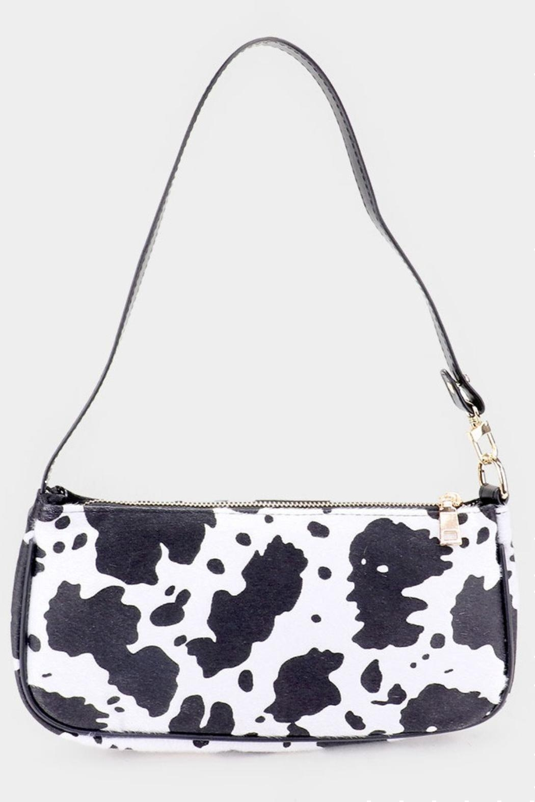Pretty Little Things Cow Print Bag - Main Image