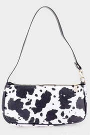 Pretty Little Things Cow Print Bag - Product Mini Image
