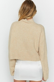 Pretty Little Things Cropped Sweater - Front full body