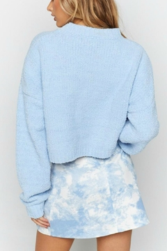 Pretty Little Things Cropped Sweater - Alternate List Image