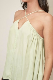 Pretty Little Things Cross Halter Top - Side cropped