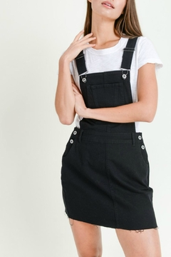 Pretty Little Things Denim Overall Dress - Product List Image