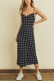 Pretty Little Things Dots Midi Dress - Front cropped