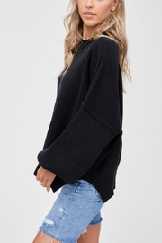 Pretty Little Things Exposed Seam Sweater - Front full body