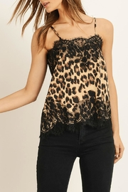 Pretty Little Things Feline Cami Top - Front cropped