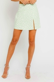 Pretty Little Things Floral Mini Skirt - Front cropped