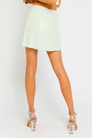 Pretty Little Things Floral Mini Skirt - Front full body