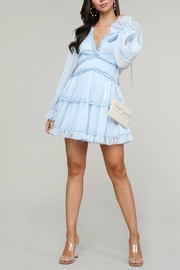 Pretty Little Things Frill Babydoll Dress - Front full body
