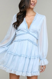 Pretty Little Things Frill Babydoll Dress - Front cropped