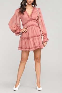 Pretty Little Things Frill Babydoll Dress - Product List Image