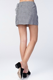 Pretty Little Things Gingham Mini Skirt - Front full body