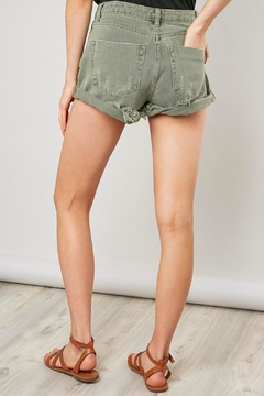Pretty Little Things Girlfriend Denim Shorts - Alternate List Image