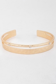 Pretty Little Things Hammered Cuff Bracelet - Product Mini Image