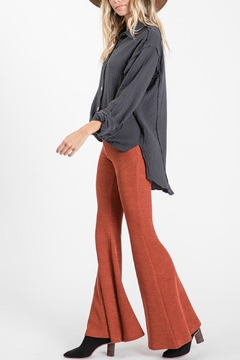 Pretty Little Things Knit Flare Pants - Product List Image