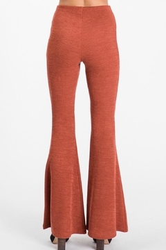 Pretty Little Things Knit Flare Pants - Alternate List Image