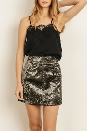 Pretty Little Things Lace Cami Top - Front cropped