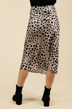 Pretty Little Things Leopard Midi Skirt - Alternate List Image