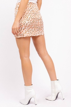 Pretty Little Things Leopard Mini Skirt - Alternate List Image