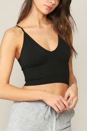 Pretty Little Things Low-Back Seamless Top - Front cropped