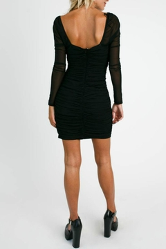 Pretty Little Things Mesh Ruched Dress - Alternate List Image