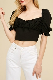 Pretty Little Things Milkmaid Ruched Top - Product Mini Image