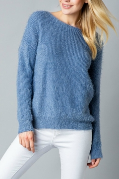 Pretty Little Things Mohair Knotted Sweater - Product List Image
