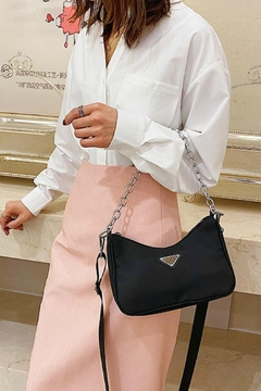 Pretty Little Things Nylon Shoulder Bag - Product List Image