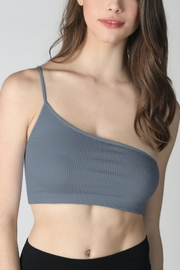 Pretty Little Things One Shoulder Bralette - Front cropped