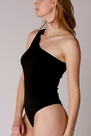 Pretty Little Things One Shoulder Bodysuit - Front full body