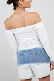 Pretty Little Things Ots Corset Blouse - Back cropped