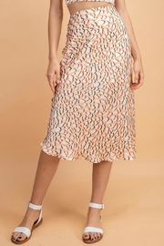 Pretty Little Things Peachy Leopard Skirt - Product Mini Image