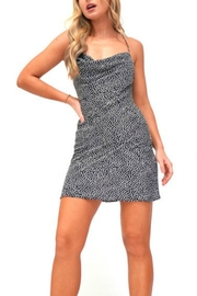 Pretty Little Things Polka Dot Dress - Front cropped