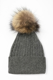 Pretty Little Things Pom Pom Hat - Back cropped