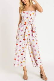 Pretty Little Things Printed Tie Jumpsuit - Product Mini Image