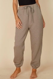 Pretty Little Things Quilted Joggers - Product Mini Image