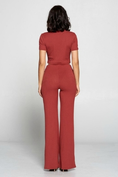 Pretty Little Things Ribbed Knit Flares - Alternate List Image